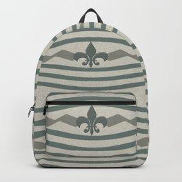 Corduroy Pattern Lines Backpack