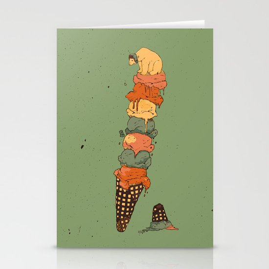The Arctic Ice Cream Stationery Cards