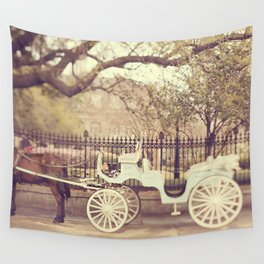 New Orleans Carriage Ride Wall Tapestry