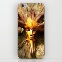 scary iPhone & iPod Skins featuring Scary by ColinBoylett