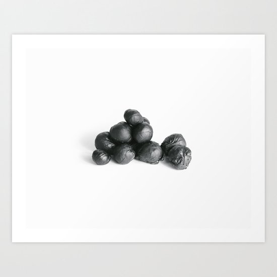 brussel sprouts Art Print