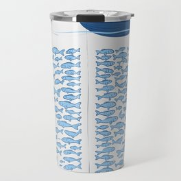 217 Finicky Fish (plenty of fish in the sea) Travel Mug