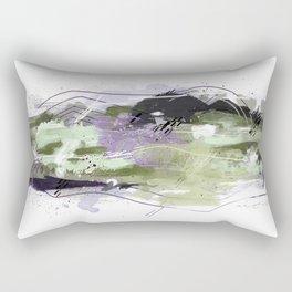 Abstract Five Rectangular Pillow