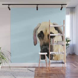 Great Dane Art - Dog Painting by Sharon Cummings Wall Mural