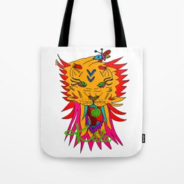 wizard lion Tote Bag