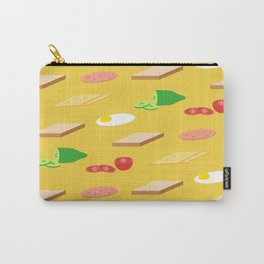 Breakfast Pattern Carry-All Pouch
