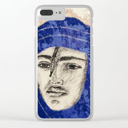 Proud Tuareg  Clear iPhone Case