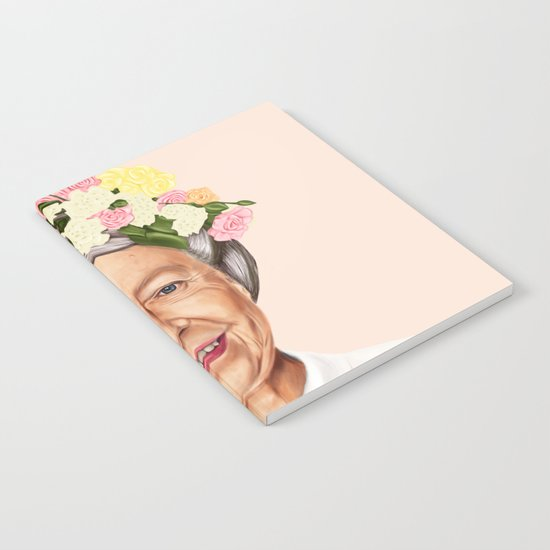 Hipstory - Queen Elizabeth Notebook