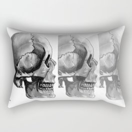 Skull 2 Rectangular Pillow