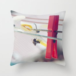 Let's get it on, up-side-down Throw Pillow