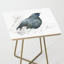 Kōkako, New Zealand native bird Side Table