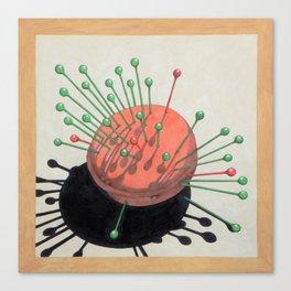 pincushion n. 2 (ORIGINAL SOLD). Canvas Print
