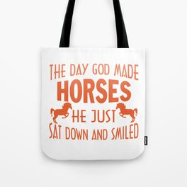 GOD MADE HORSES Tote Bag
