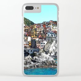 CinqueTerre_20150901_by_JAMFoto Clear iPhone Case