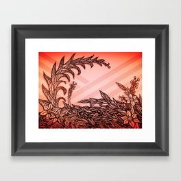 Leaving again Framed Art Print