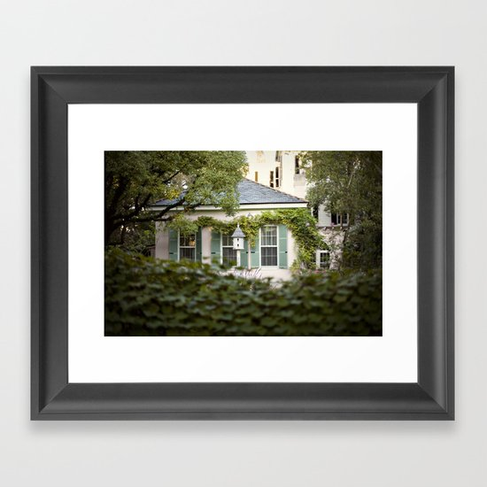 glimpse::charleston Framed Art Print
