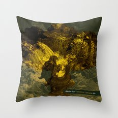 destroy Throw Pillow