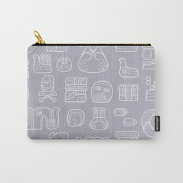 Picto-glyphs Story Carry-All Pouch