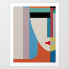 Absolute Face Art Print