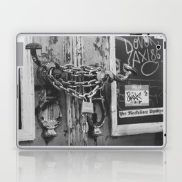 The Chain and The Door Laptop & iPad Skin