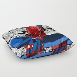Spider-Man Comic Floor Pillow