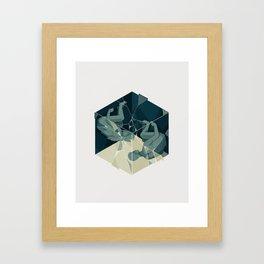 Cube 04 Framed Art Print