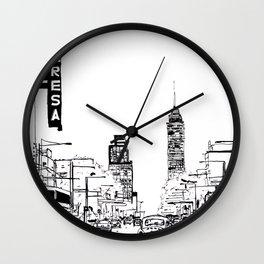 El Teresa Wall Clock