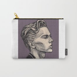 Mens Drawing Portair Carry-All Pouch