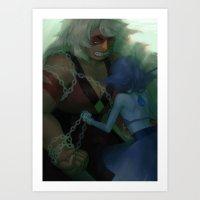 malachite Art Prints featuring malachite by sleepysenshi