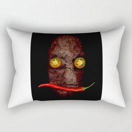 Copperhead mask_092 Rectangular Pillow