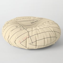 Not all those who wander are lost Floor Pillow