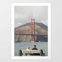 solid Art Prints featuring Solid by Larry Corio