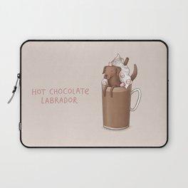 Hot Chocolate Labrador Laptop Sleeve