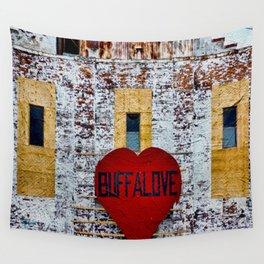 Buffalo Love Wall Tapestry