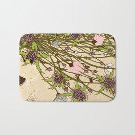 Wild Flowers Part 2 Bath Mat