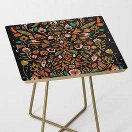 Botanical Print Side Table