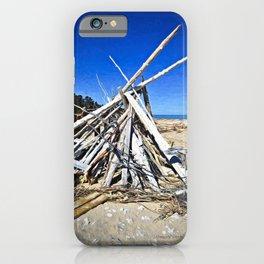 Beachwood Shelter iPhone Case
