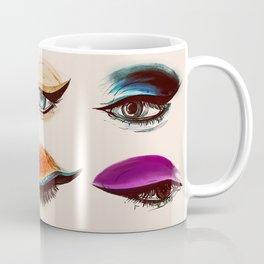 Shadows and Eyeliner Coffee Mug