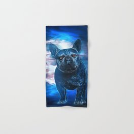Max the Frenchie Hand & Bath Towel