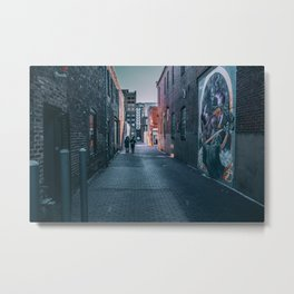 Back Alley Shortcut Metal Print