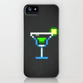 Pixel Margarita iPhone Case