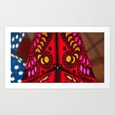 BOOM I Art Print