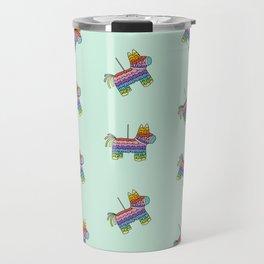 Pinata Party   Mint Travel Mug