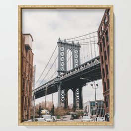 Manhattan Bridge, New York City Serving Tray