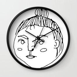 That Bun Gal // Cafe Customer Series Wall Clock