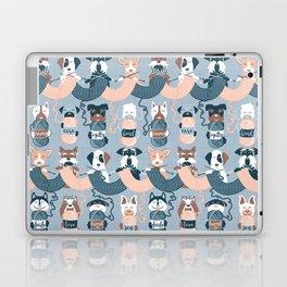 Knitting dog feelings I Laptop & iPad Skin