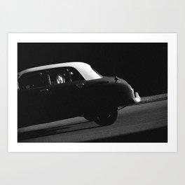 a car portrait Art Print