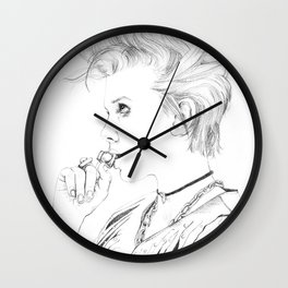Millie Bobby Brown Wall Clock