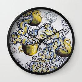 Deja Brew Wall Clock