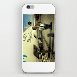 Cpt Roger Cambion, CRJ 900 iPhone Skin